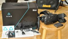 HTC Vive VR Headset w/ Cables, Manuals & Box - No Controllers or Base Stations