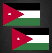 2 Jordan Flag Decals Stickers