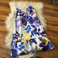 American Eagle Size 8 Floral Sun Dress