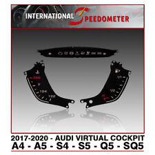 Virtual Cockpit Faceplates Fits a 2017 to 2020 Audi A4, A5, S4, S5, Q5 & SQ5
