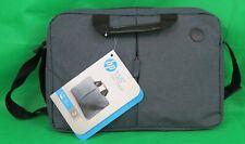 HP Essential Top Load Notebooktasche Umhängetasche 15 Zoll schwarz grau