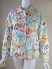 Croft & Barrow Multi-Color Long Sleeve Woman Top Blouse Size L