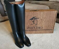 Sergio Grasso Italian Leather Long Riding Boots, Size EU 41 UK 7