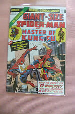 9.8 Nm/Mt Giant Size Spider-Man & Master Of Kung Fu # 2 German Euro Variant