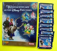 Sammelalbum Rewe Weihnachten mit guten Disney Freunden und 10 Tüten 50 Sticker