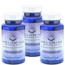 3X Relumins Skin Whitening Glutathione Advance beauty White Oral Whitening Pills