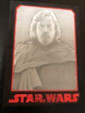 Star Wars The Last Jedi Sketch Card By Keith Carter (Luke Skywalker)