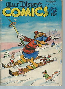 NB-005 - Walt Disney's Comics, # 87, 1947 Donald Duck Good Condition