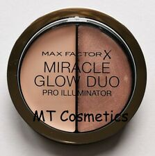 Max Factor Miracle Glow Duo Pro Illuminator Matte Shimmer Cream Highlighter