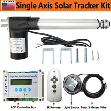 "1Kw Solar Tracking Tracker Electric 6000N 8"" 12V Linear Actuator +Lcd Controller"