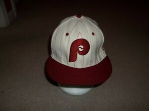 Rare New Era 59FIFTY 1980 Phillie Phanatic World Champions 7 3/8 Fitted Hat Cap