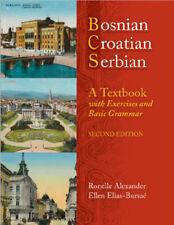 Huge Serbian,Croatian,Bosnian language training Pack. Books, audio, tests etc..