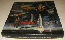 1967 SPRINGBOK PUZZLE THE DEVELOPMENT OF ROCKETRY THROUGH THE AGES IN BOX RARE