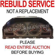 99 00 01 02 03 04 05 06 07 Volvo S60 S80 V70 XC90 DIM Instrument Cluster REBUILD