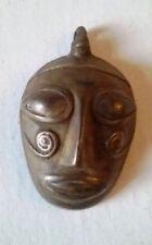Antique Bronze Head Pendant  Naga Head Hunter