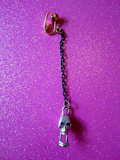 Pirate Skull Earring Clip On