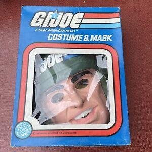 Vintage GI Joe 1982 Grunt Halloween Costume and Mask Ben Goody in Box Medium NOS