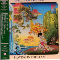 SALLY OLDFIELD-PLAYING IN THE FLAME-JAPAN MINI LP CD BONUS TRACK G35