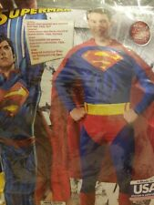 Superman Adult Costume 3D Muscle Chest Size  Large #670