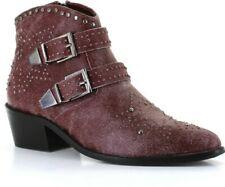 Vintage 7 Sunset Cowboy Style Boot Wine Uk 9