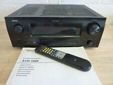 DENON AVR-1909 AV Surround Receiver + Remote + Manual (Hospiscare)