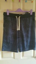 Mens Navy Patterned Shorts BNWT Size Medium
