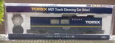 Tomix 6421 Track Cleaning Car blue Schienenreinigungswagen Spur N + OVP