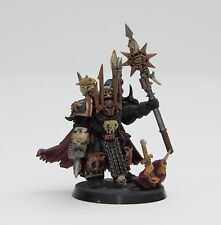 Games Workshop Warhammer 40k Chaos Space Marine Terminator Lord Painted