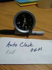 OEM MG MGB Quartz Dashboard 12 Hour Clock VDO 0003 218/32/1 3.77 Original Part