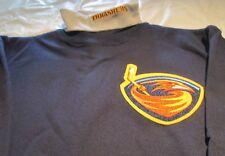 Atlanta Thrasher Youth Sweat Shirt Turtleneck Large NHL Majestic Brand 50/50