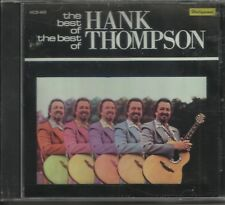 The Best of the Best of Hank Thompson by Hank Thompson (CD, Feb-1996, Hollywood)