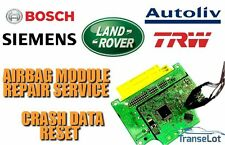 LAND ROVER AIRBAG ECU SRS ECU AIRBAG MODULE CRASH DATA RESET REPAIR SERVICE