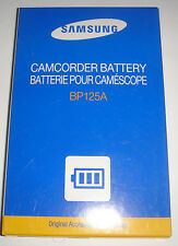 Batterie D'ORIGINE SAMSUNG BP125A IA-BP125A GENUINE Battery ACCU ORIGINAL NEUVE