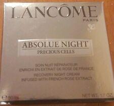 Lancome Absolue Night Precious Cells Recovery Night Cream 1.7 Oz NIB Sealed-40R3