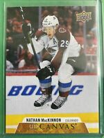 2020-21 Upper Deck Series 1 UD Canvas #C20 Nathan MacKinnon Colorado Avalanche