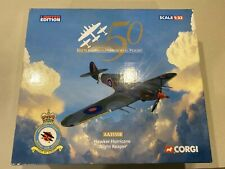 "AA35508 Corgi Hawker Hurricane RAF No.1(F) Sqn, ""Night Reaper"" 1/32"