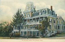 New Canaan CT~The Birdsall House Hotel~2nd Empire Style~Two Balconies~1910