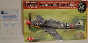 1/72 KP Messerschmitt Bf 109 G-6 + mask Peewit M72027