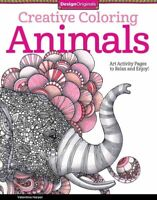 Animals Adult Coloring Book : Art Activity Pages to Relax and Enjoy!, Paperba...