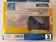 ESU 54680 2020 RailCom® Transmitter Unit ~ With Wire Harness ~ 5 Pieces ~ New!!