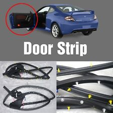 OEM Genuine Parts Rubber Door Strip 2Pcs For HYUNDAI 2003-2008 Tiburon / Tuscani