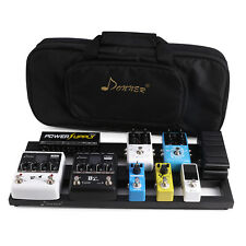Donner DB-2 Pedal Board For Guitar Effect Pedals With Soft Case