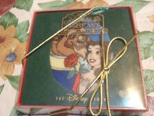 disney beauty and the beast christmas hanging ornate