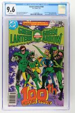 Green Lantern #100 - DC 1978 CGC 9.6 1st Appearance of Air Wave II (Harold Jorda