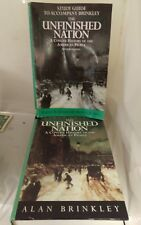 Study Guide to Accompany Brinkley: The Unfinished Nation: A Concise History of t