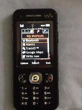 SONY ERICSSON W890i Phone Black with accessories