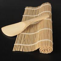 Bamboo DIY Rice Spoon Paddle Sushi Roll Maker Sushi Rolling Roller Sushi Mat