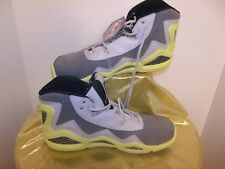 Men's Lace-UP High Top Sneakers Athletic Shoe Reebok Gray/Yellow, Sz 10.5 M