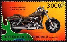 2010 HARLEY DAVIDSON CVO FAT BOB FXDFSE2 Motorbike Stamp (2012)