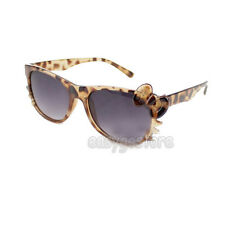 1 Pair HelloKitty Ladies Girls Women's Bow Bowknot nerdy Sun Glasses Sunglasses